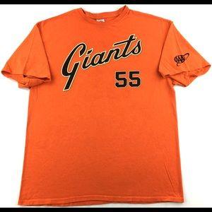 MLB San Francisco Giants Tim Lincecum #55 T-Shirt